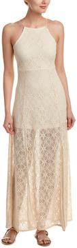 Cotton Candy Crochet Maxi Dress