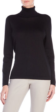 August Silk Turtleneck Sweater