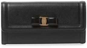 Salvatore Ferragamo Women's Leather Long Wallet