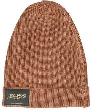 Stella McCartney Classic Beige Knitted Beanie Hat