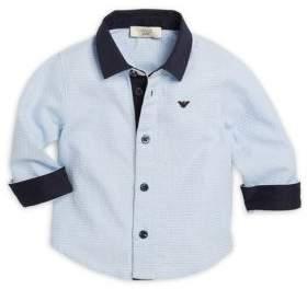 Armani Junior Infant Cotton Boy's Shirt