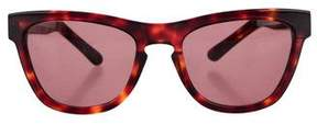 Westward Leaning Westward\\Leaning Tortoiseshell Rectangular Sunglasses