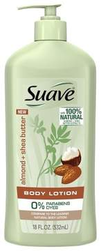 Suave Body Lotion Almond and Shea Butter - 18oz