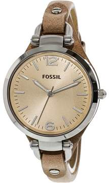 Fossil Women's ES2830 Georgia Stainless Steel Watch, 32mm