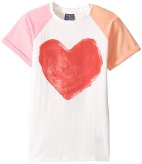 Toobydoo Pink Heart T-Shirt Girl's T Shirt