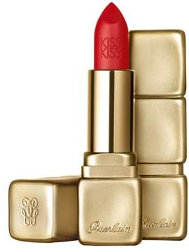 Guerlain Kisskiss Matte Lipstick - M347 Zesty Orange