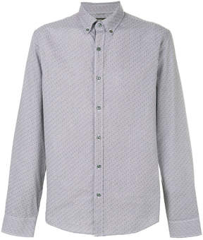 Michael Kors patterned button-down shirt