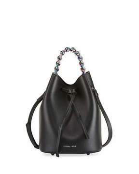KENDALL + KYLIE Ladie Mini Leather Bucket Bag
