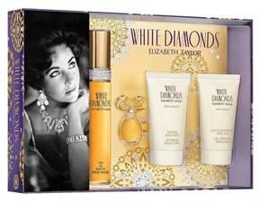 Elizabeth Taylor White Diamonds by Women's Fragrance Gift Set - 4pc