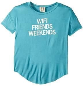 (+) People People Wifi Friends Knit Tee (Big Kids)