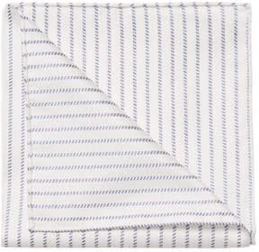Armani Collezioni Men's Embroidered Stripes Handkerchief