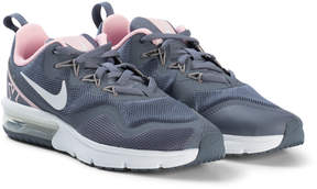 Nike Grey and White Running Shoes