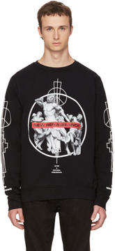 Marcelo Burlon County of Milan Black Fainu Sweatshirt
