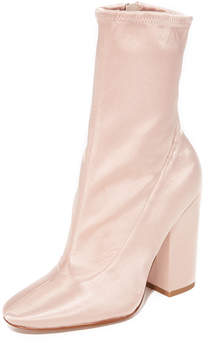 KENDALL + KYLIE Hailey Satin Booties