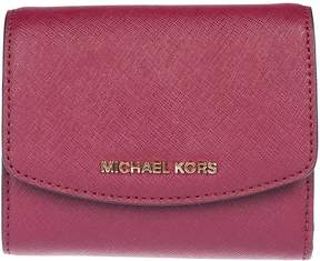 Michael Kors Logo Plaque French Wallet - MULBERRY - STYLE