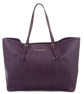 Michael Kors Michael Jet Set Travel Tote - PURPLE - STYLE