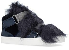 Carvela Lovely Faux Fur Sneakers