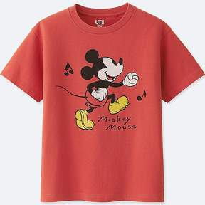 Uniqlo Kid's Sounds Of Disney Graphic T-Shirt
