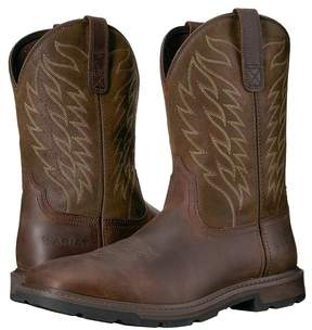 Ariat Groundbreaker Wide Square Toe Cowboy Boots