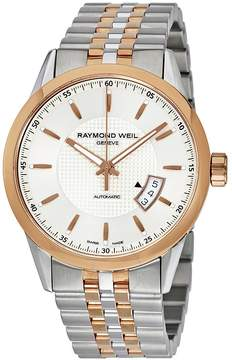 Raymond Weil Freelancer Automatic Silver Dial Two-tone Men's Watch
