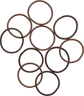 H&M 10-pack hair elastics - Beige