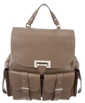 Aspinal of London Smooth Leather Backpack