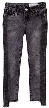 AG Jeans The Pieced-Slim Straight Acid Wash Jeans (Big Girls)