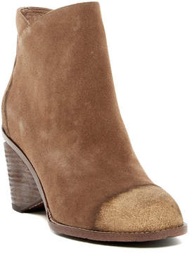 Antelope Glittery Suede Short Boot