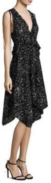 Derek Lam 10 Crosby Ruffled Fit-&-Flare Dress