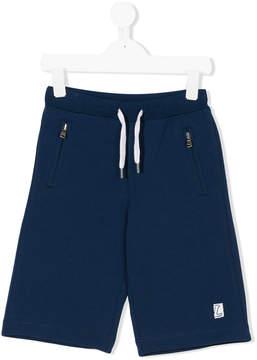 Lanvin Enfant drawstring waist track shorts