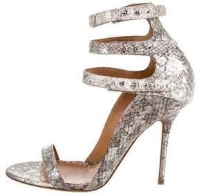 Alexa Wagner Snakeskin Sandals w/ Tags