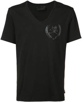 Philipp Plein skull motif T-shirt