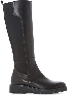 Dune Tula leather knee-high boot
