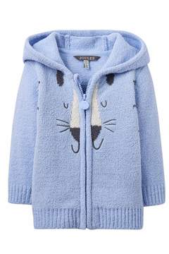 Joules Cat Zipper Hoody