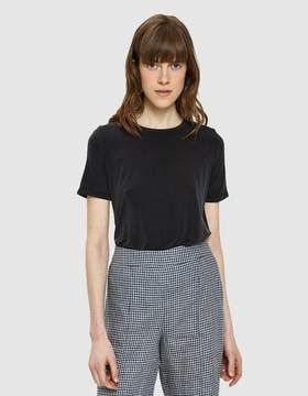 Which We Want Thalia Short Sleeve Top in Black