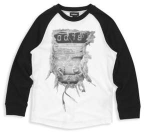 Diesel Boy's Party Time Cotton Tee