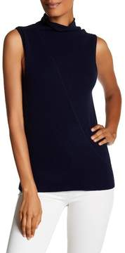 Brochu Walker Riviera Funnel Sleeveless Cashmere Sweater