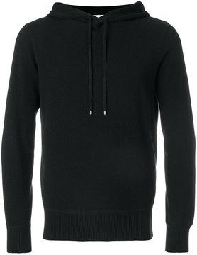 Cruciani fine knit hoodie