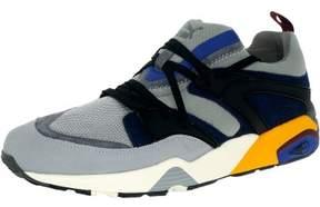 Puma Men's Blaze Of Glory Street Light Quarry/Peacoat Ankle-High Basketball Shoe - 10M