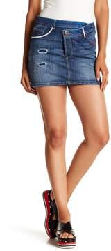 Desigual Distressed Asymmetrical Skirt
