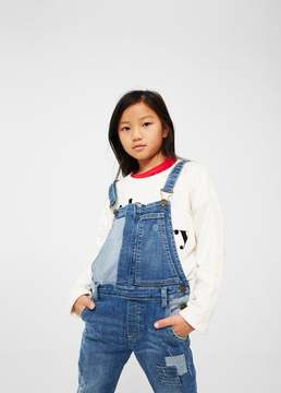 MANGO Combined long dungarees