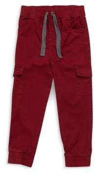 Petit Lem Little Boy's Solid Cotton Jogging Pants