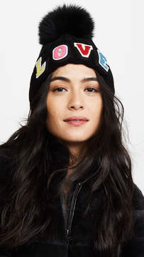 Jocelyn Love Fur Pom Hat