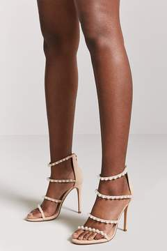 Forever 21 Faux Pearl Stiletto Heels