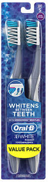 Oral-B 3D White Radiant Whitening Toothbrush Soft