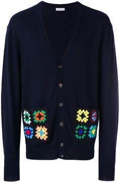 J.W.Anderson crochet pockets cardigan