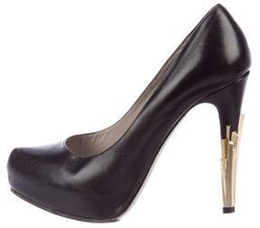 Jason Wu Leather Pointed-Toe Pumps