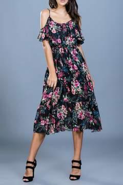 Ark & Co Floral Midi Dress