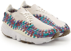Nike Footscape Woven Sneakers with Suede
