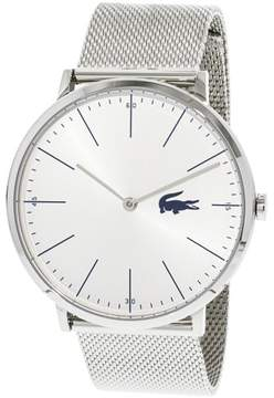 Lacoste Men's Moon 2010901 Silver Stainless-Steel Quartz Fashion Watch